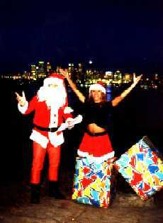 Santa, comedy, Yuletide, Christmas parties, dancers